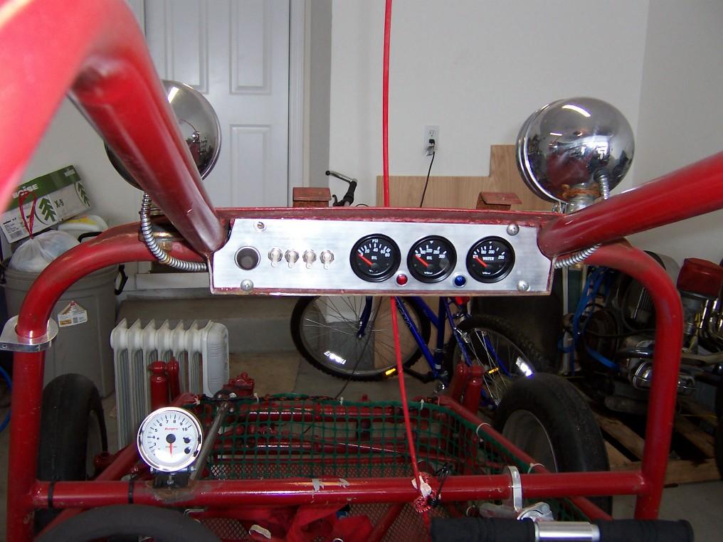 Sand Rail Speedometer : Ins panel dr scott m baker