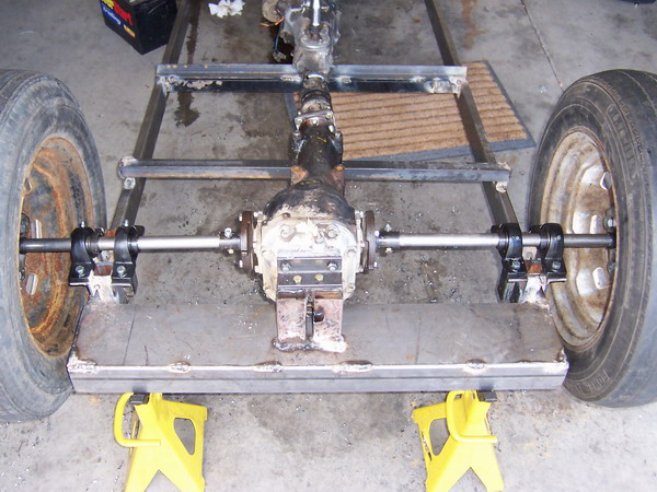 Sand Rail Rear Axle : Junk yard dog mazda sandrail project dr scott m baker