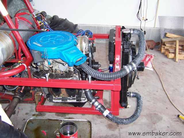 Step-by-Step Conversion of Sandrail to Mazda Rotary Engine