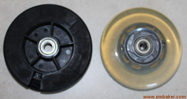 rubber inline skate wheels