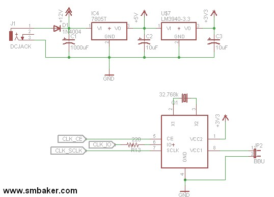 in12clock-clock Nixie Tube Power Supply Schematic on