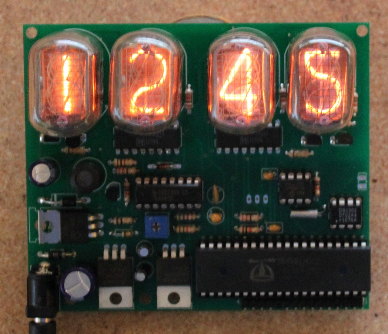 Propeller Powered In 12 Nixie Clock Dr Scott M Baker Board Build The Circuit Using Schematic On Right Lessons Learned