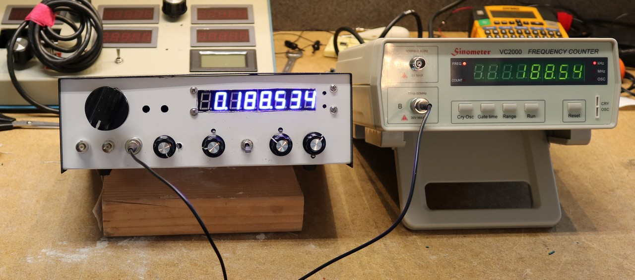 Rf Signal Generator Kit : Learning to use the gali mmic dr scott m baker