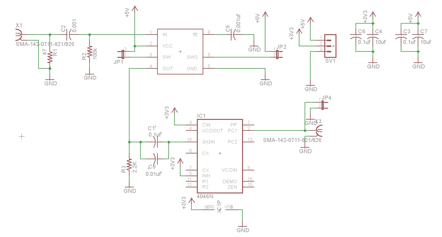 Frequency Counter Preamplifier Circuit : Diy nixie tube frequency counter dr scott m baker