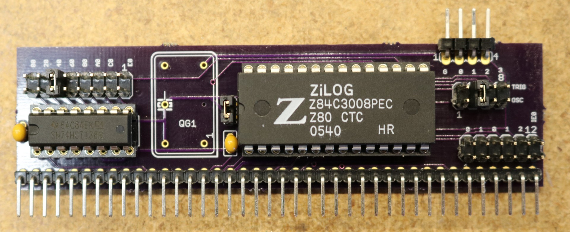 Z80 Retrocomputing 9 – CTC and dual serial ports for RC2014 9