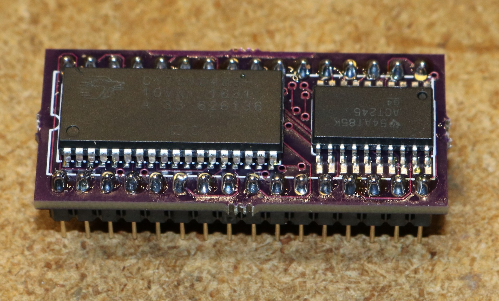 Uncategorized Dr Scott M Baker Voltage Regulator With Lt1086 Electronic Circuit Buffered Memory Adapter Completed Board