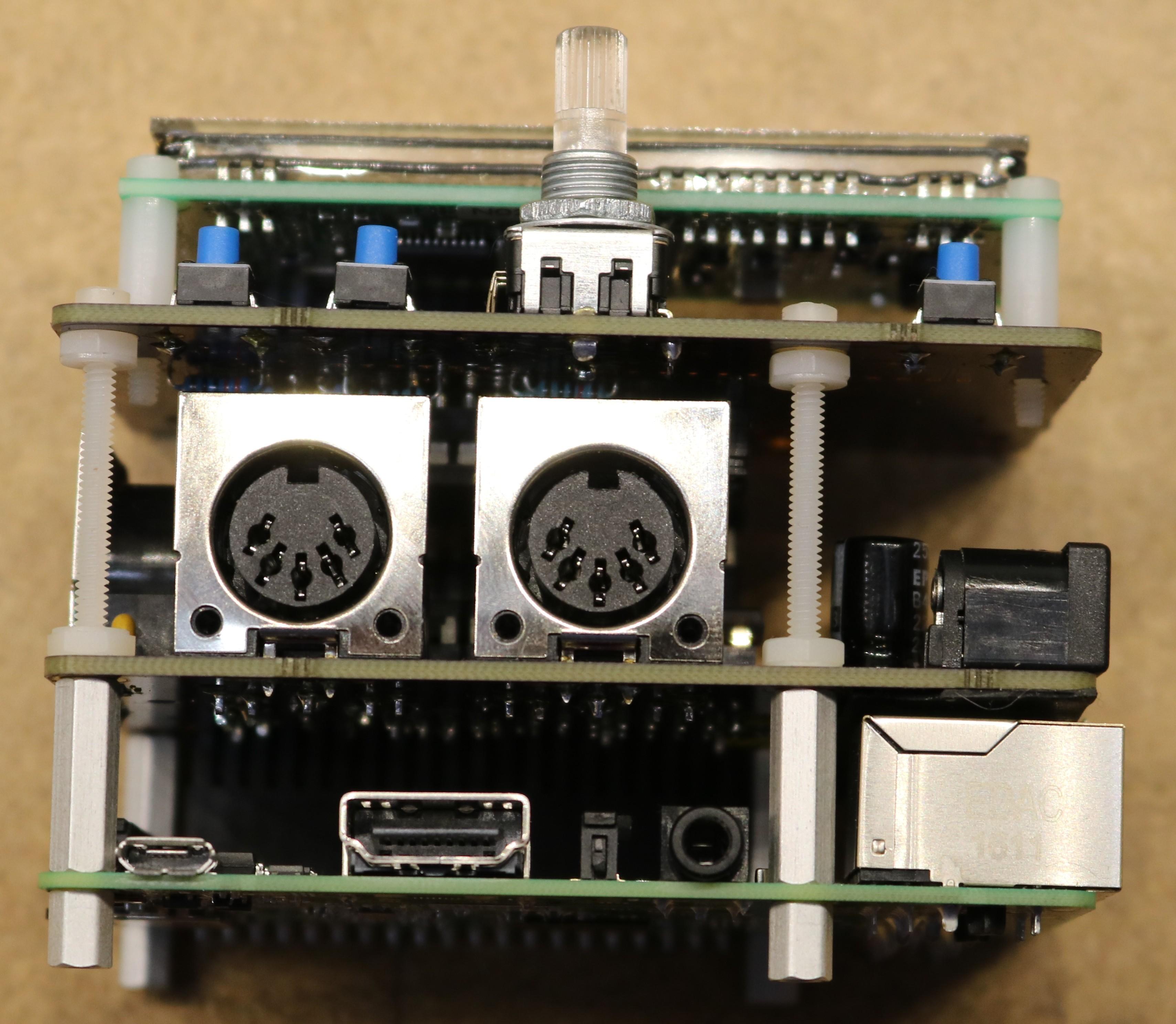 Raspberry Pi Midi Hat / Building a Raspberry Pi Midi Jukebox - Dr