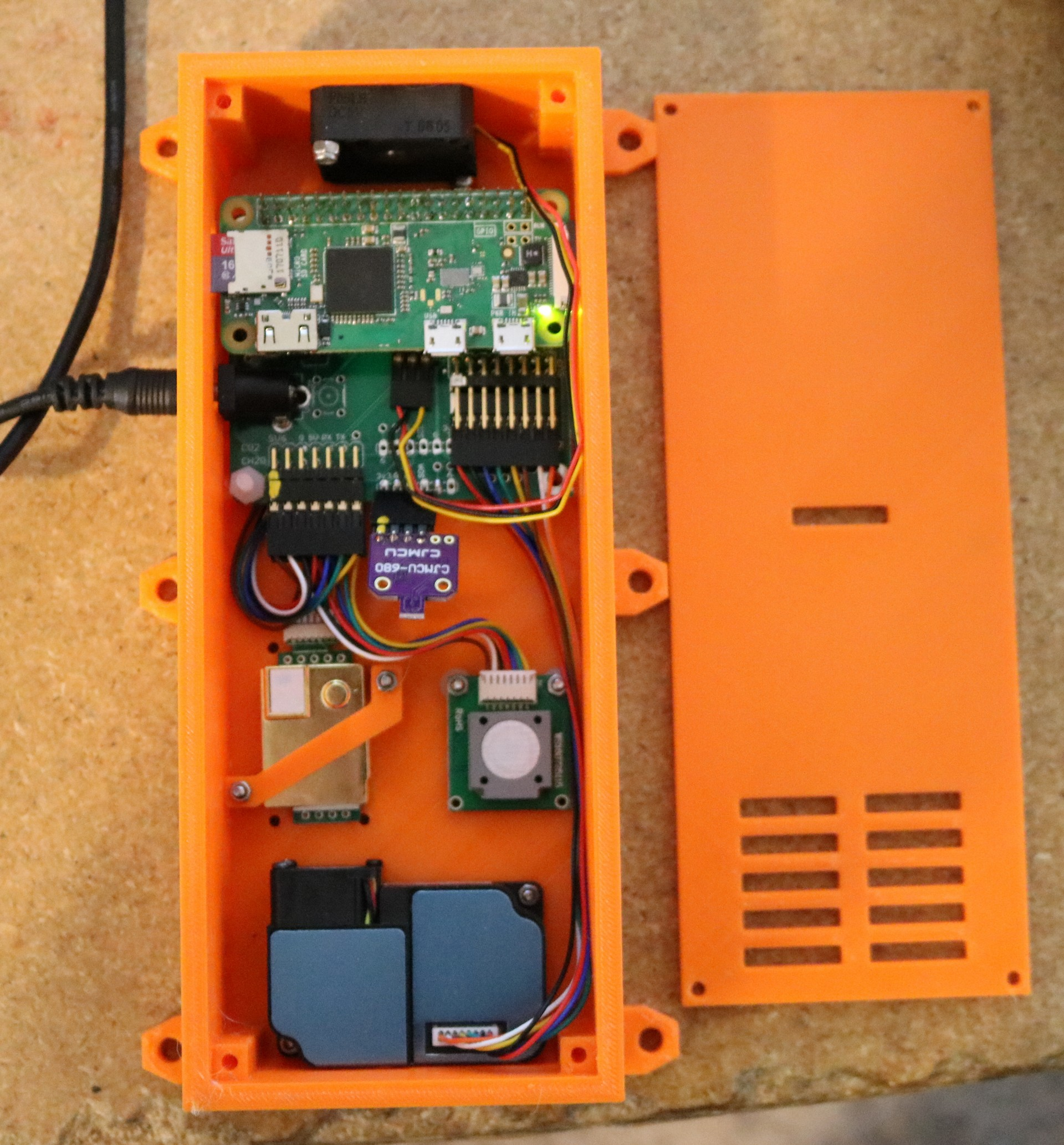 Raspberry pi based indoor air quality monitor - Dr  Scott M