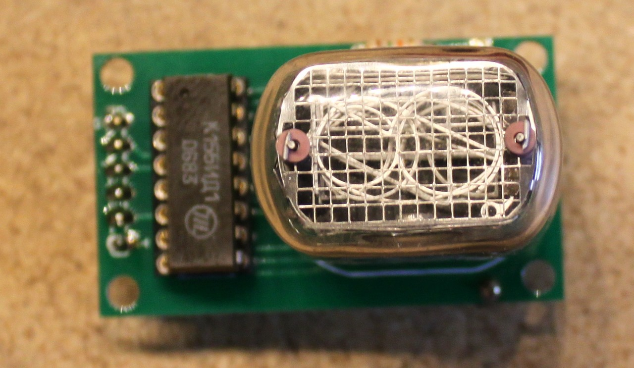 Raspberry Pi Nixie Tube Clock Prototype Dr Scott M Baker Schematic Of My 6 Digit Here Are Some Photos In 12 Driver